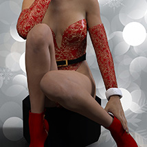 Christmas Bustier for Genesis 3 Females image 4