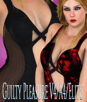 Guilty Pleasure V4/A4/Elite 3D Figure Essentials kaleya