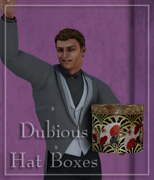 Dubious Hat Boxes 3D Models donnena