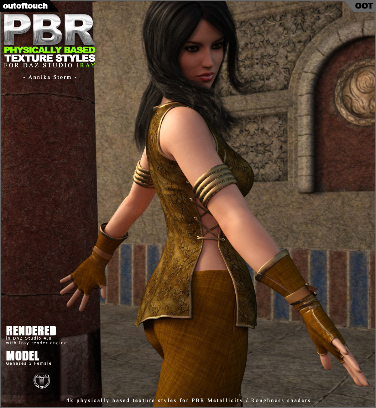 OOT PBR Texture Styles for Annika Storm