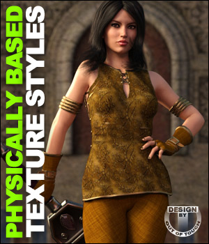 OOT PBR Texture Styles for Annika Storm 3D Figure Essentials outoftouch