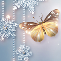 Moonbeam's Frosted Florals image 1