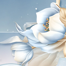 Moonbeam's Frosted Florals image 6