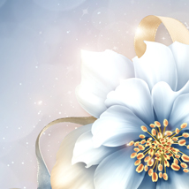 Moonbeam's Frosted Florals image 8