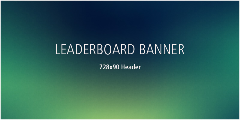 Renderosity 728x90 Leaderboard Banner :: 30 Days