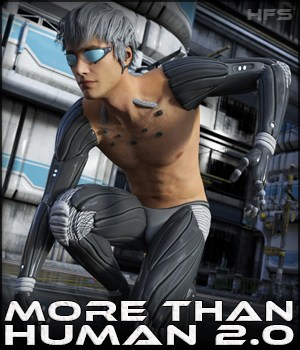 HFS More Than Human 2.0 for G3M 3D Figure Assets DarioFish
