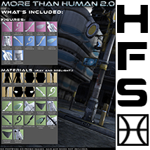 HFS More Than Human 2.0 Bundle image 7