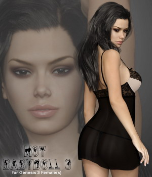 Hot Babydoll 3 for Genesis 3 Females 3D Figure Assets B-Rock
