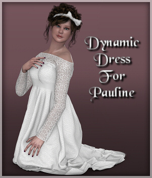 Pauline Dynamics -02-Dress 3D Figure Assets Lully