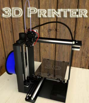 3D Printer 3D Models BionicRooster