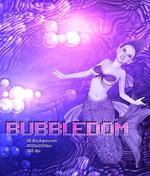 BUBBLEDOM 2D Graphics RajRaja