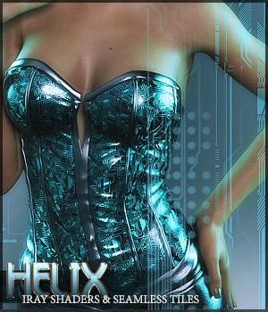 SV's Helix Iray Shaders 2D Graphics 3D Figure Assets Merchant Resources Sveva