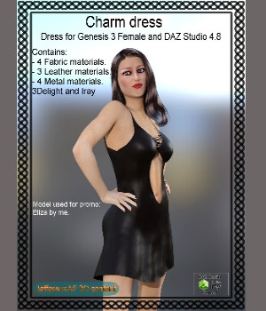 Charm dress 3D Figure Essentials JeffersonAF
