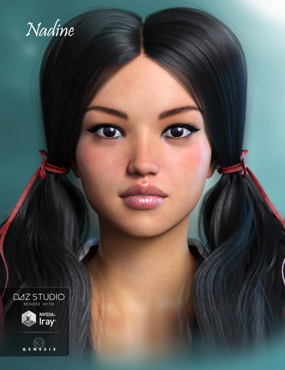 GDN Nadine for Genesis 3 Female
