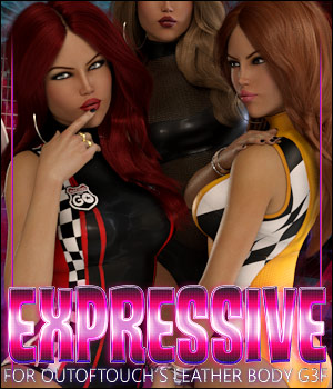 Expressive for Leather Body G3F 3D Figure Assets ShanasSoulmate