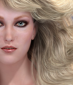 SAV Dynasty Hair  3D Figure Assets StudioArtVartanian