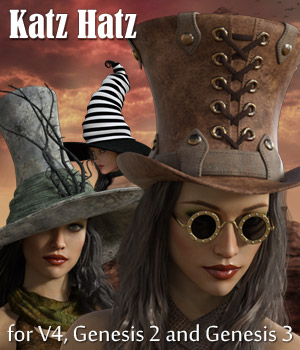 Katz Hatz 3D Figure Essentials Rhiannon