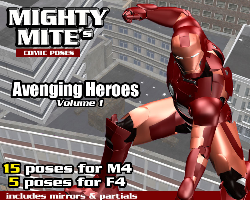 Avenging Heroes v01 MM4M by MightyMite