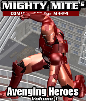 Avenging Heroes v01 MM4M 3D Figure Assets MightyMite