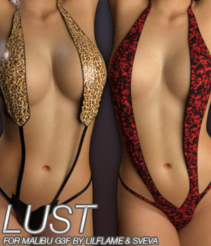 LUST - Malibu G3F 3D Figure Essentials Anagord