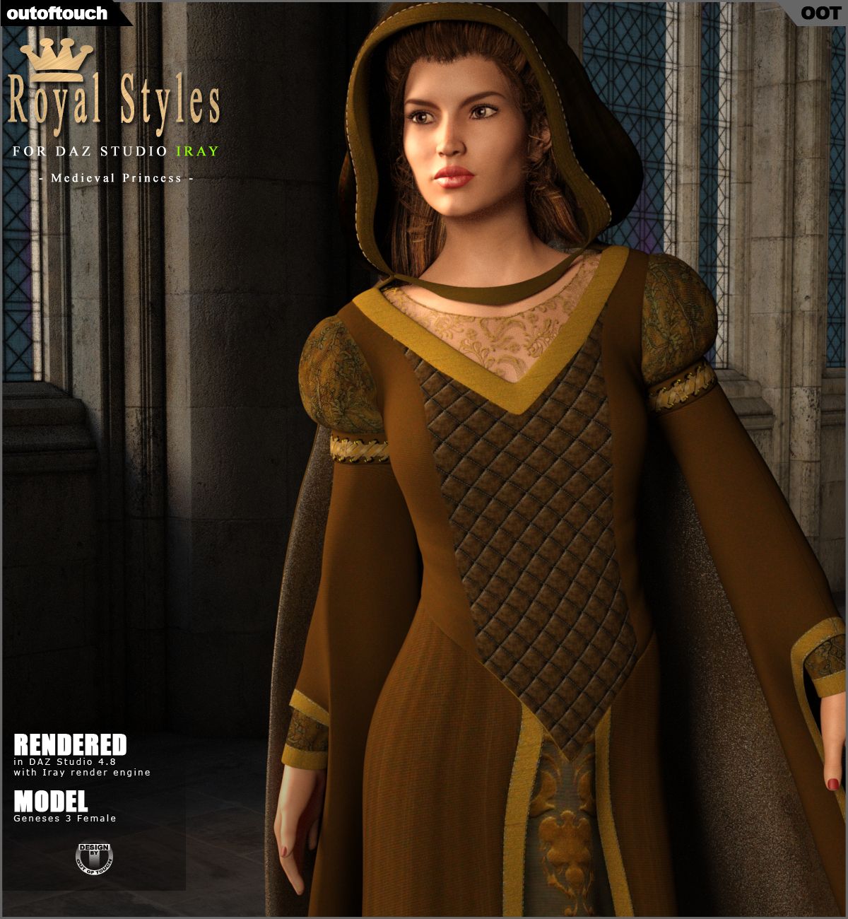 OOT Royal Styles for Medieval Pribcess by outoftouch