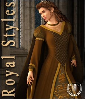 OOT Royal Styles for Medieval Pribcess 3D Figure Essentials outoftouch