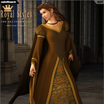 OOT Royal Styles for Medieval Pribcess image 1