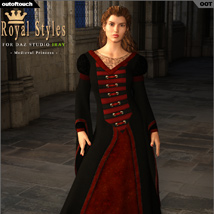 OOT Royal Styles for Medieval Pribcess image 2