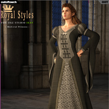 OOT Royal Styles for Medieval Pribcess image 3