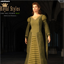 OOT Royal Styles for Medieval Pribcess image 4