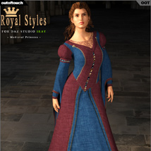 OOT Royal Styles for Medieval Pribcess image 5