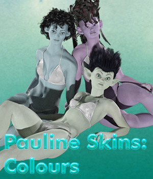 Pauline Skins Expansion Colours 3D Figure Assets Lyrra