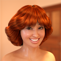 70s Hair for G2F - Extended License image 4