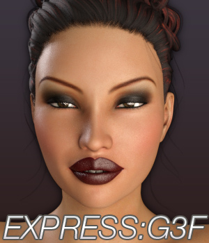 EXPRESS:Genesis 3 Female 3D Figure Assets Anagord