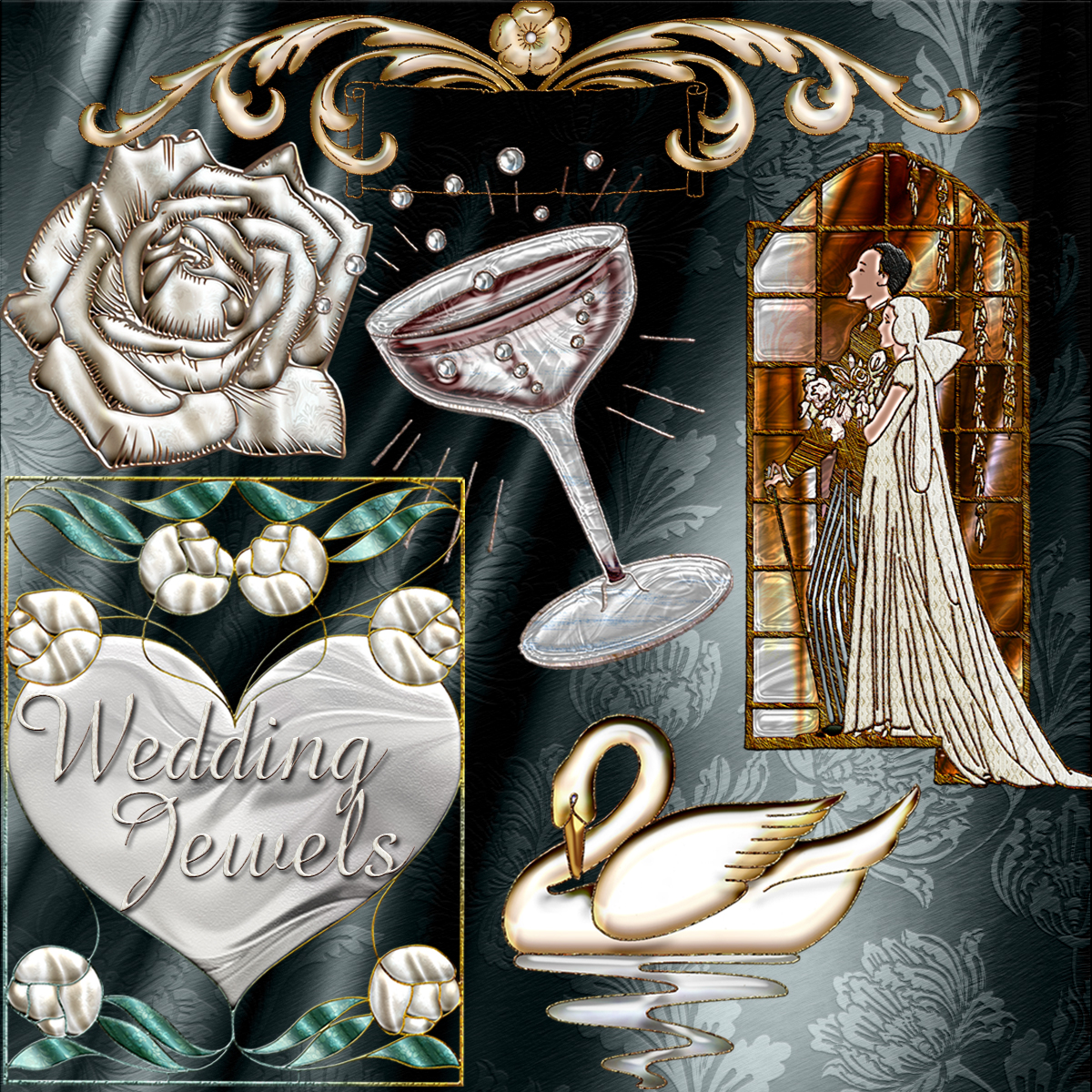 Harvest Moon's Wedding Jewels
