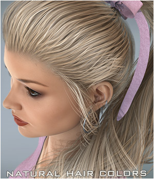 NaturalHC : ELS Ponytail 3D Figure Essentials P3D-Art