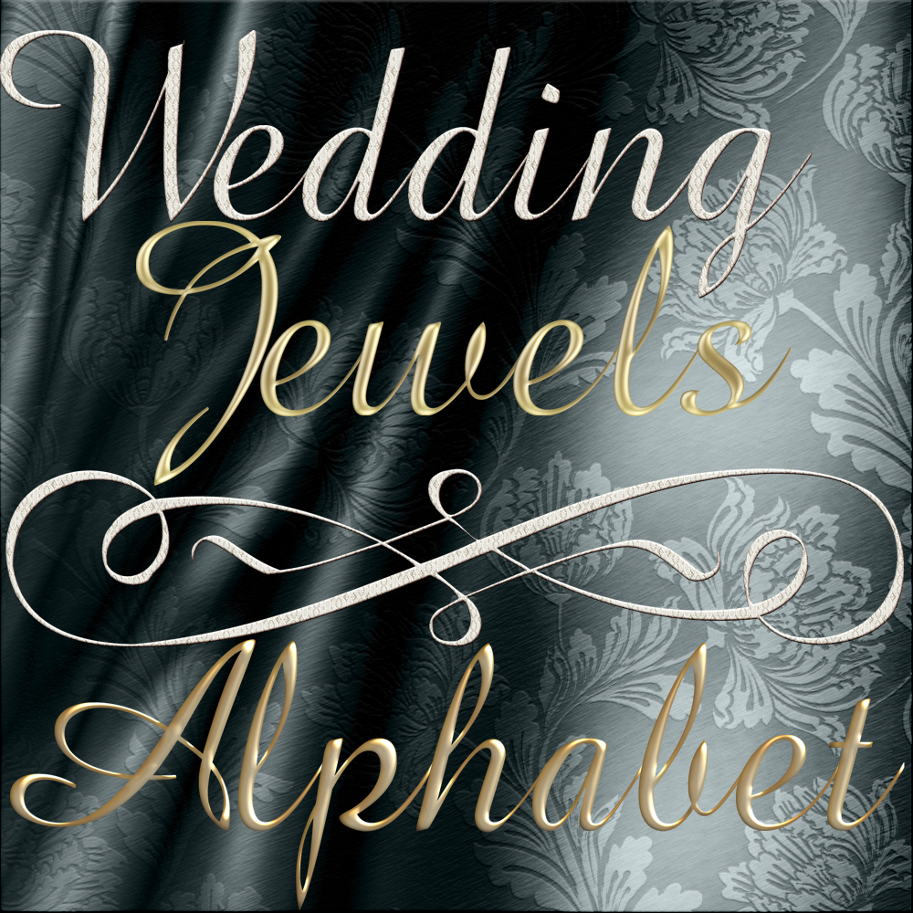 Harvest Moon's Wedding Jewels Alphabet