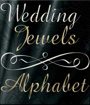 Harvest Moons Wedding Jewels Alphabet 2D Merchant Resources MOONWOLFII