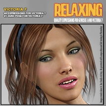 Relaxing - Expressions for G3V7 image 1