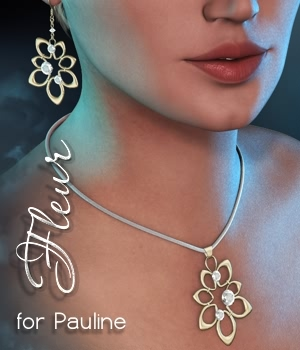 Fleur for Pauline 3D Figure Essentials fabiana