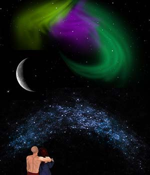 Night Skyes for Daz Iray 3D Models labellamagica