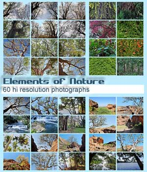 Elements of Nature 2D Graphics RajRaja