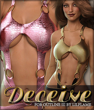 Deceive for Outline III G3F 3D Figure Assets Sveva