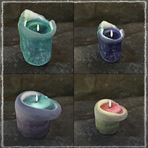 Photo Props: Ancient Candles - Extended License image 4