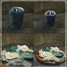 Photo Props: Ancient Candles - Extended License image 6