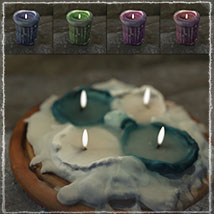 Photo Props: Ancient Candles - Extended License image 8