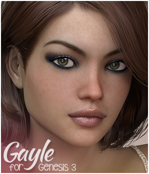 Gayle for Genesis 3 Female 3D Figure Assets 3DSublimeProductions