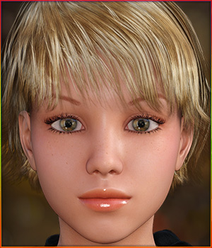 TDT-Nastyusha for Genesis 3 Female 3D Figure Assets Deva3D