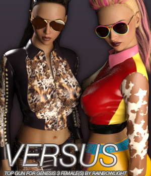 VERSUS - Top Gun for Genesis 3 Female(s) 3D Figure Essentials Anagord