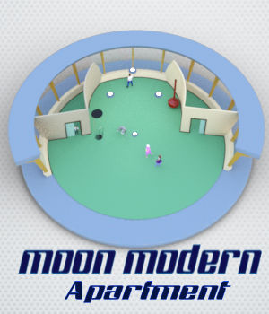 Moon Modern Apartment 3D Models dhouck
